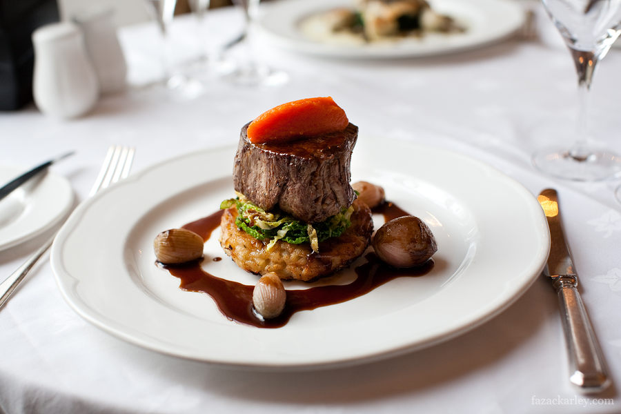 Saskia fine dining fusion boutique hotel for Fine dining food